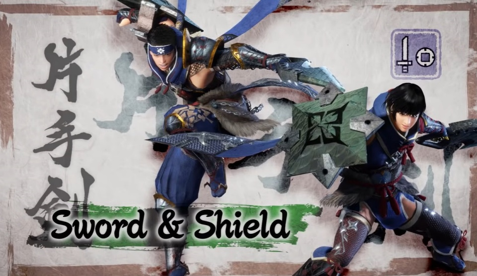 Monster Hunter Rise - Sword & Shield