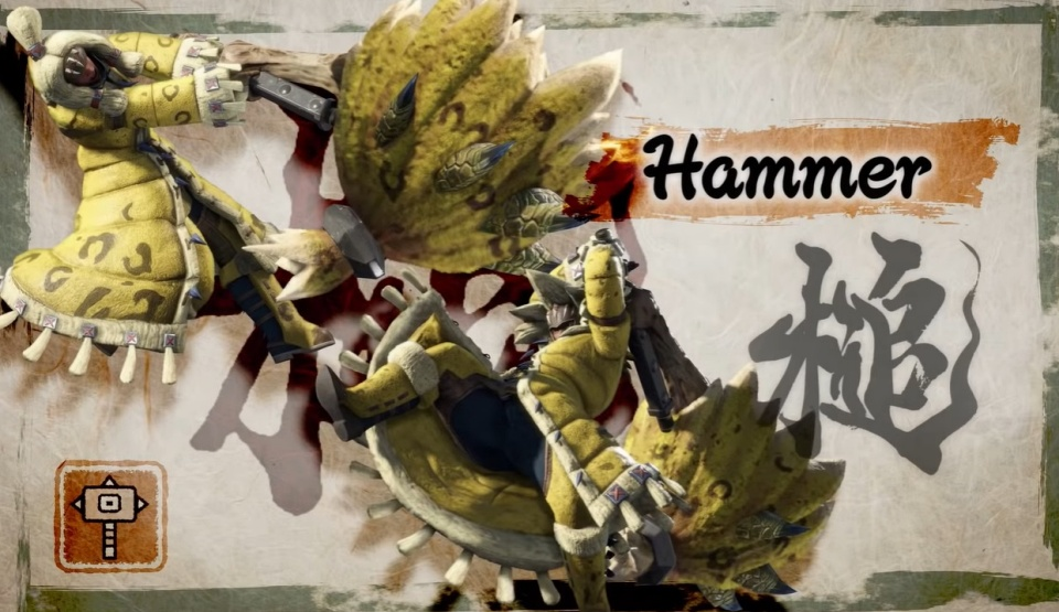 Monster Hunter Rise - Hammer