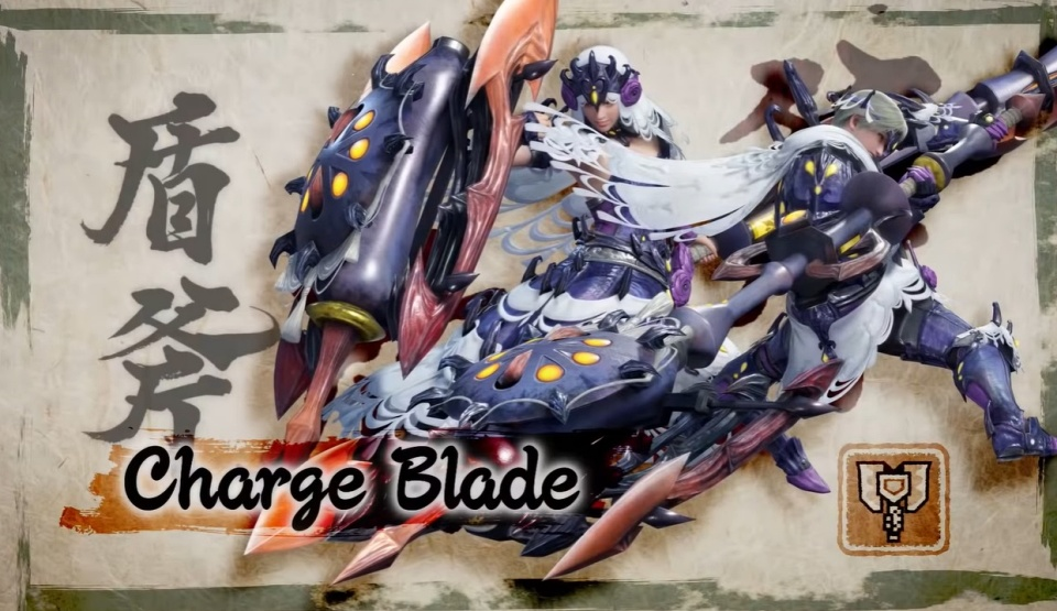 Monster Hunter Rise - Charge Blade