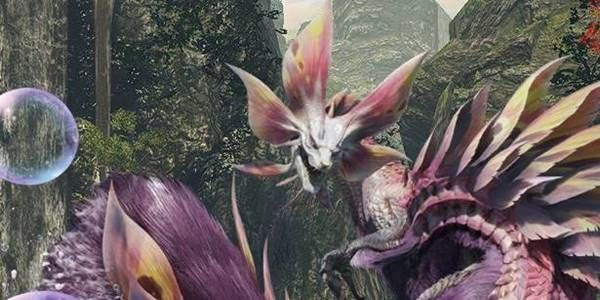 Monster Hunter Rise - Mizutsune Monster
