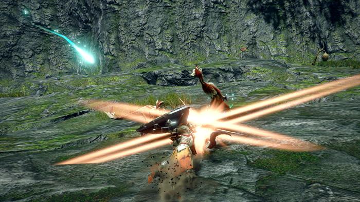Monster Hunter Rise - Lance Hunter Silkbind Attack Spiral Thrust