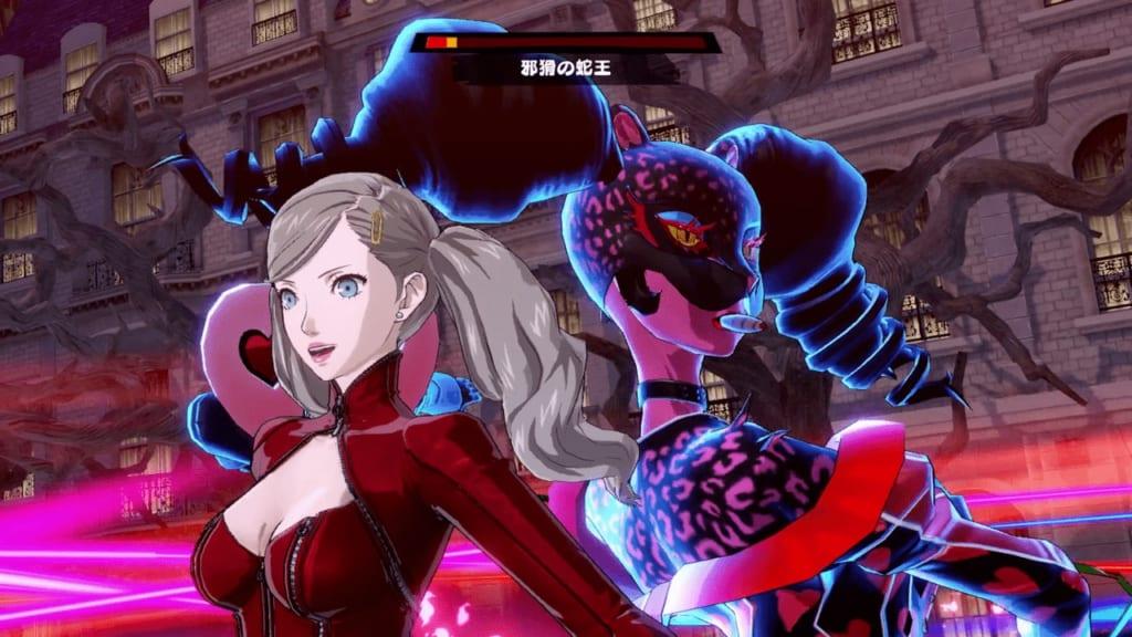 Persona 5 Strikers - Sendai Jail Dire Shadow Snake King Raja Naga Showtime Attack