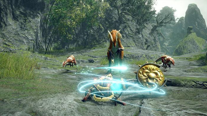 Monster Hunter Rise - Hunting Horn Hunter Silkbind Attack Bead of Resonance