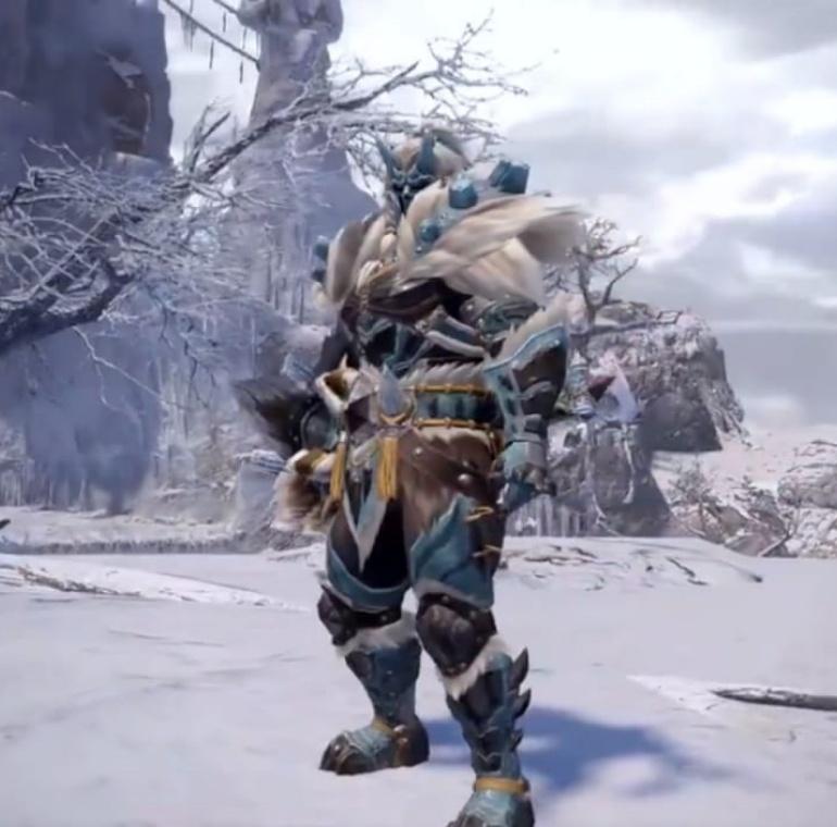 Monster Hunter Rise - Goss Harag Armor Set (Male)
