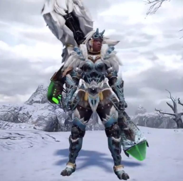 Monster Hunter Rise - Goss Harag Armor Set (Female)