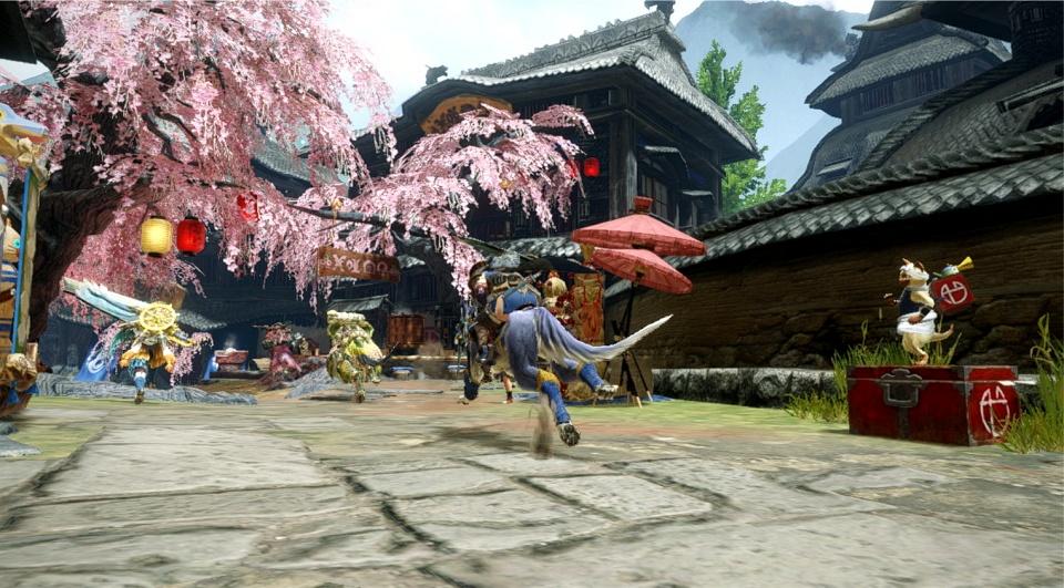 Monster Hunter Rise - Main Area