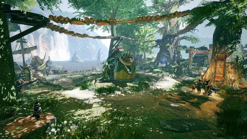 Monster Hunter Rise - Buddy Plaza