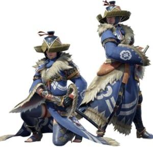 Monster Hunter Rise - Kamurai Armor Set