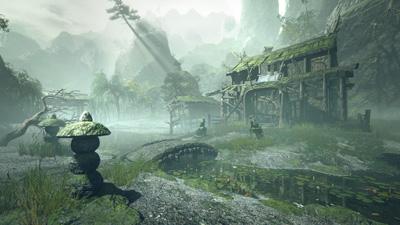 Monster Hunter Rise - Shrine Ruins Locale Map