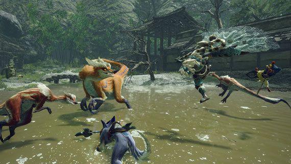 Monster Hunter Rise - Slay a Great Izuchi Quest