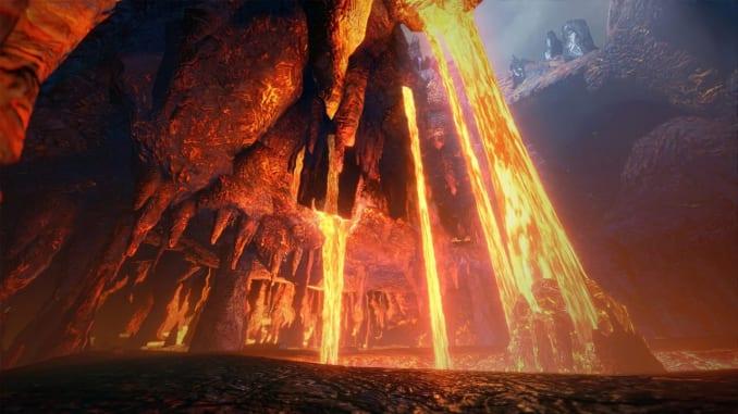 Monster Hunter Rise - Lava Caverns Map Guide