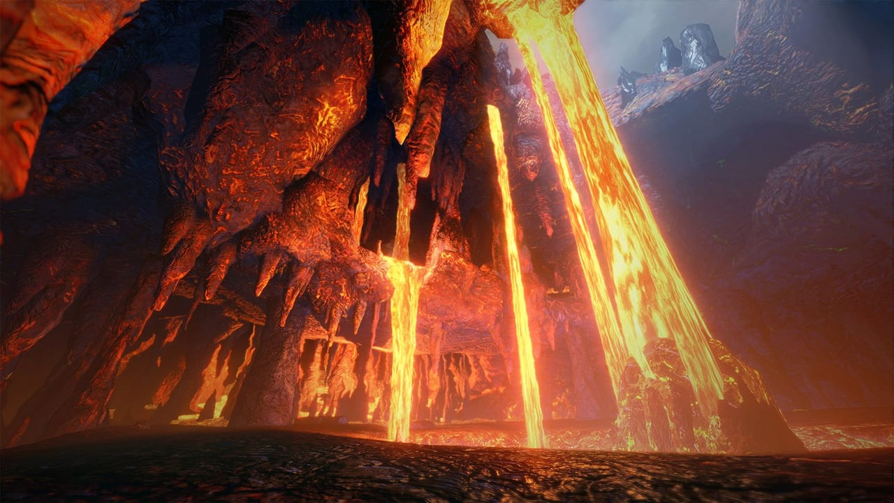 Monster Hunter Rise - Lava Caverns Locale Map