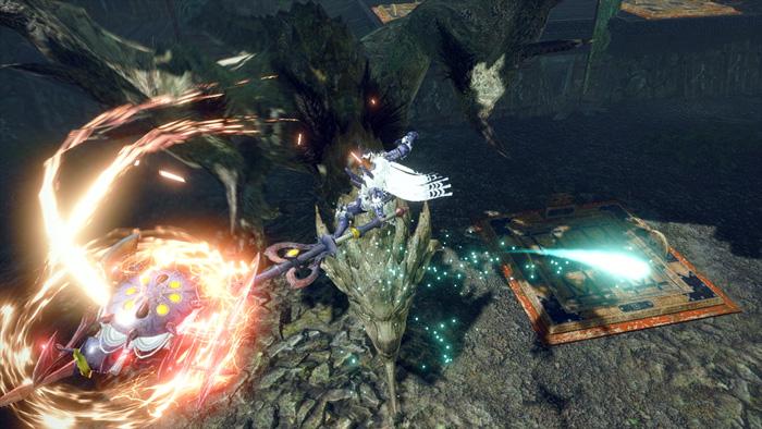 Monster Hunter Rise - Charge Blade Hunter Silkbind Attack Axe Hopper