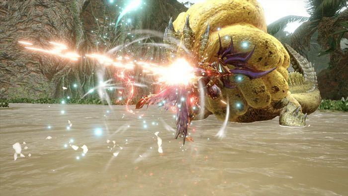 Monster Hunter Rise - Dual Blades Hunter Silkbind Attack Shrouded Vault