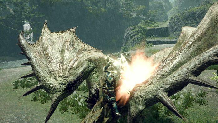 Monster Hunter Rise - Great Sword Hunter Silkbind Attack Hunting Edge