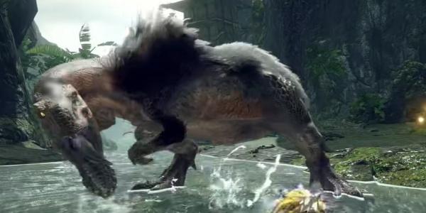 Monster Hunter Rise - Anjanath Monster
