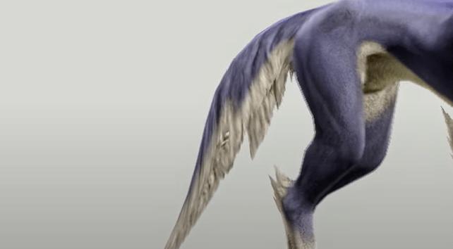Monster Hunter Rise - Palamute Tail Style 1