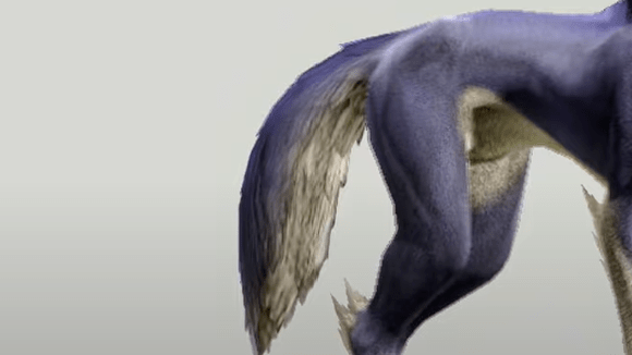 Monster Hunter Rise - Palamute Tail Style 4