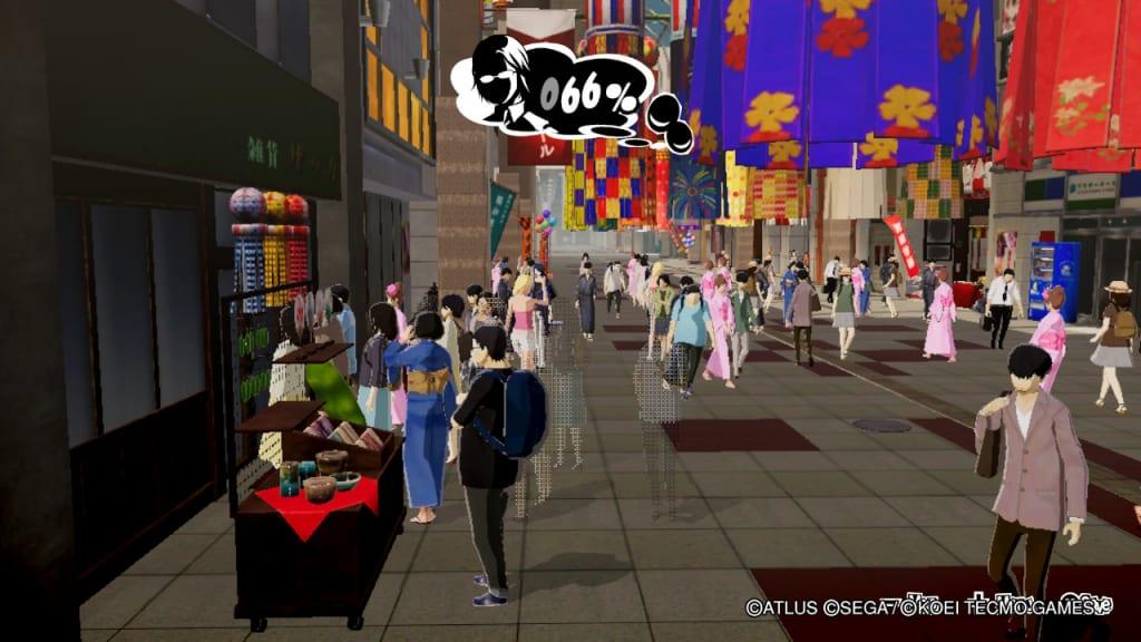 Persona 5 Strikers - Sendai Intel Rumor Gathering Location General Store Manager