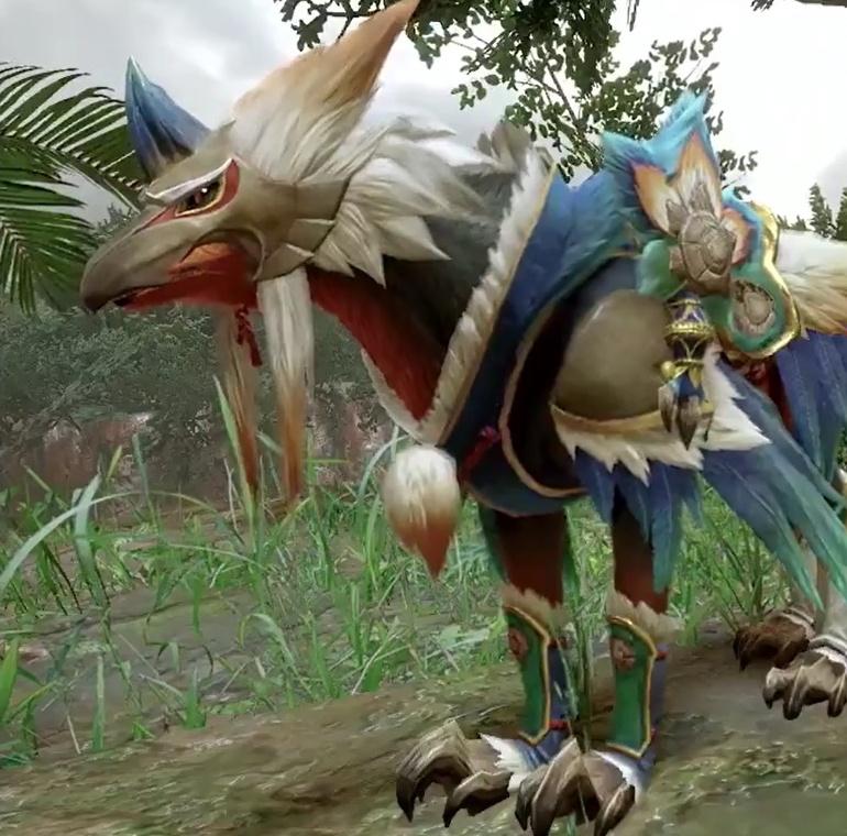 Monster Hunter Rise - Bishaten Palamute Armor Set