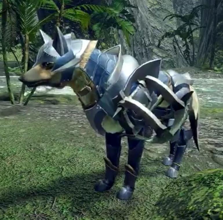 Monster Hunter Rise - Palamute Armor Set
