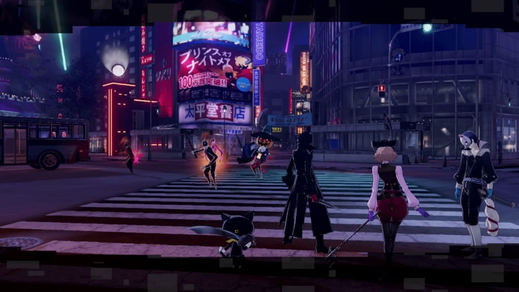 Persona 5 Strikers - Take Back the Desire Request Shibuya Jail Walkthrough Shadow Location