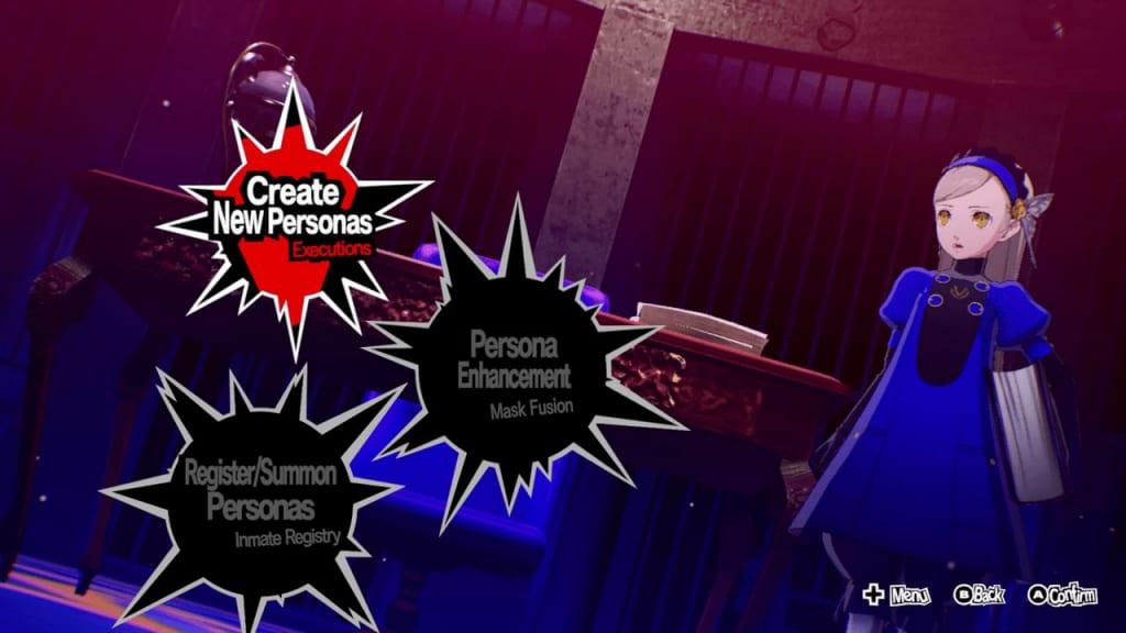 Persona 5 Strikers - Prison Mail Part 1 Request Velvet Room Location