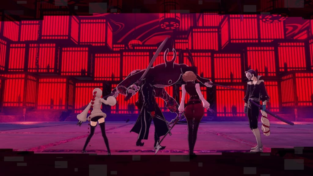 Persona 5 Strikers - Sendai Jail Lock Keeper Swords Mini-Boss Guide