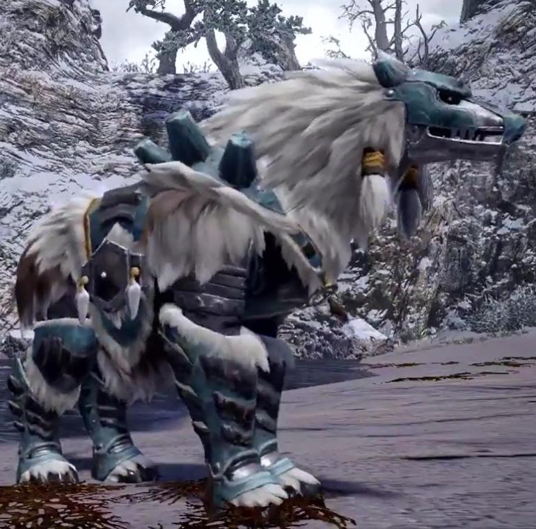 Monster Hunter Rise - Goss Harag Palamute Armor Set
