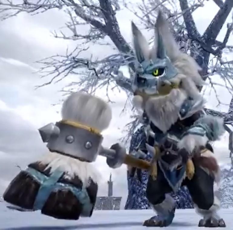 Monster Hunter Rise - Goss Harag Palico Armor Set