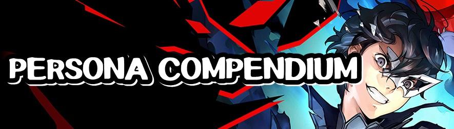 Persona 5 Strikers - Persona Compendium Banner