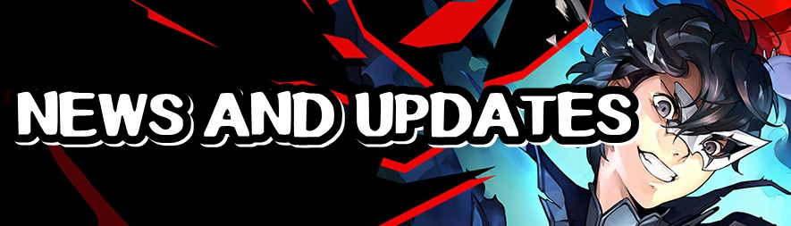 Persona 5 Strikers - News and Updates Banner