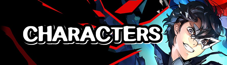 Persona 5 Strikers - Characters Banner