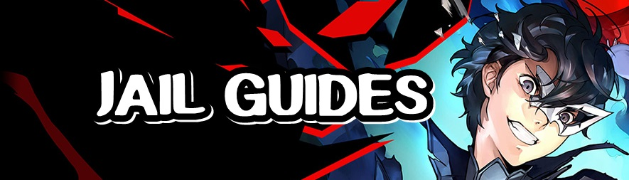 Persona 5 Strikers - Jail Guides Banner