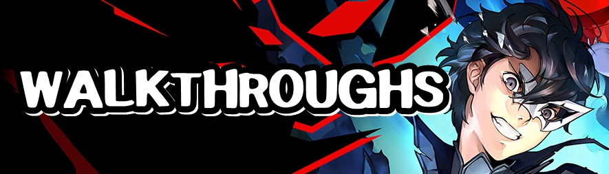 Persona 5 Strikers - Walkthroughs Banner