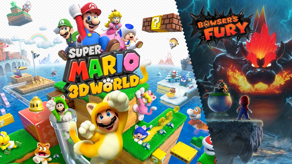 Super Mario 3D World + Bowser's Fury - Risky Whisker Island Cat Shines