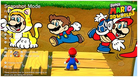 Super Mario 3D World + Bowser's Fury - Snapshot Mode