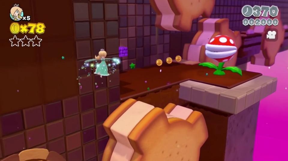Super Mario 3D World + Bowser's Fury - Rosalina