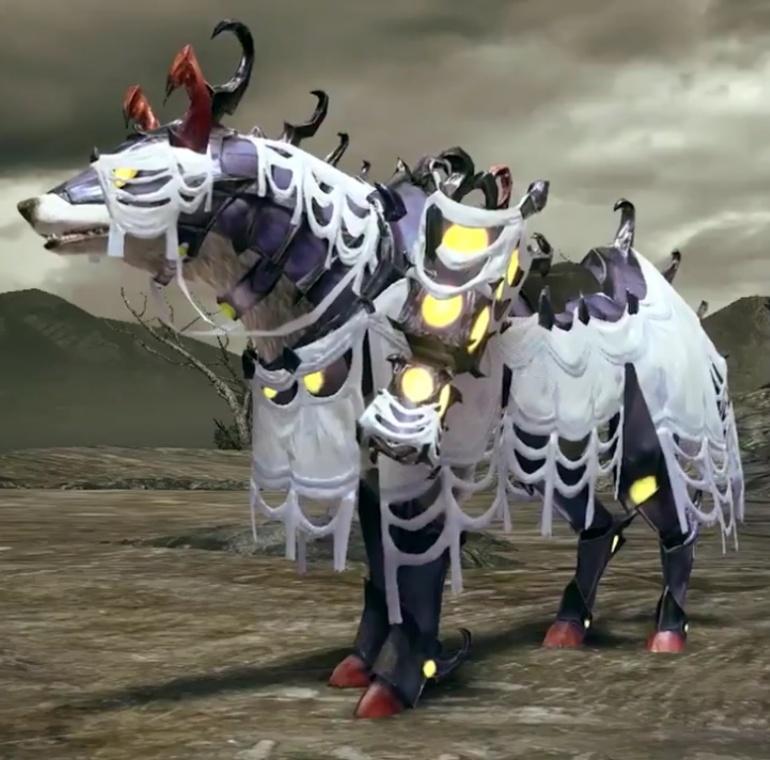Monster Hunter Rise - Rakna-Kadaki Palamute Armor Set