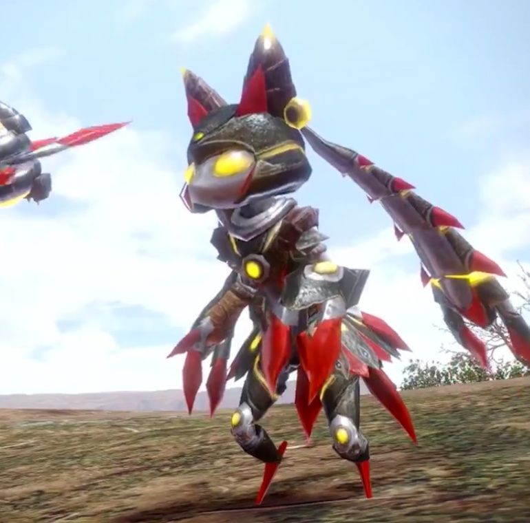 Monster Hunter Rise - Almudron Palico Armor Set