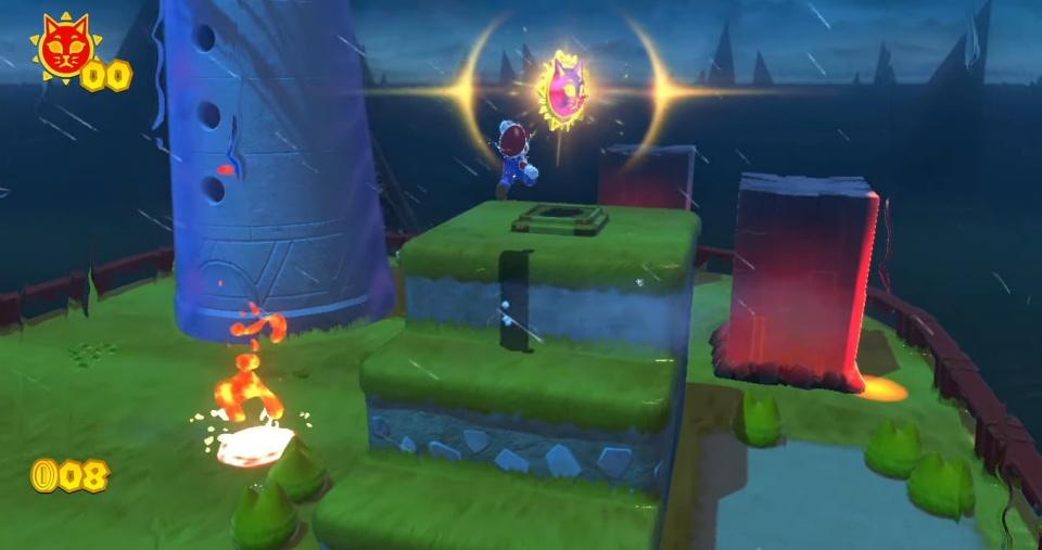 Super Mario 3D World + Bowser's Fury - All Cat Shine Locations