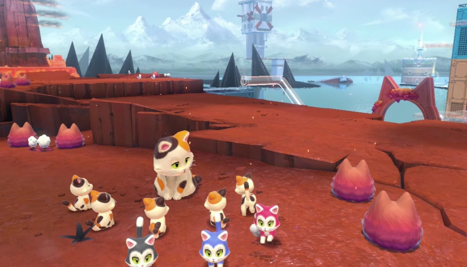 Super Mario 3D World + Bowser's Fury - All Calico Cat Locations