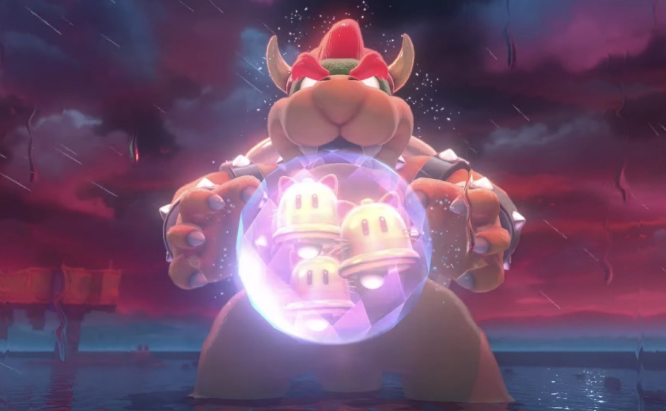 Super Mario 3D World + Bowser's Fury - True Bowser Secret Boss