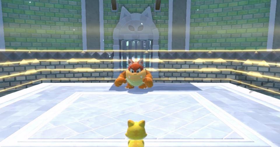 Super Mario 3D World + Bowser's Fury - Cat Boom Boom Boss