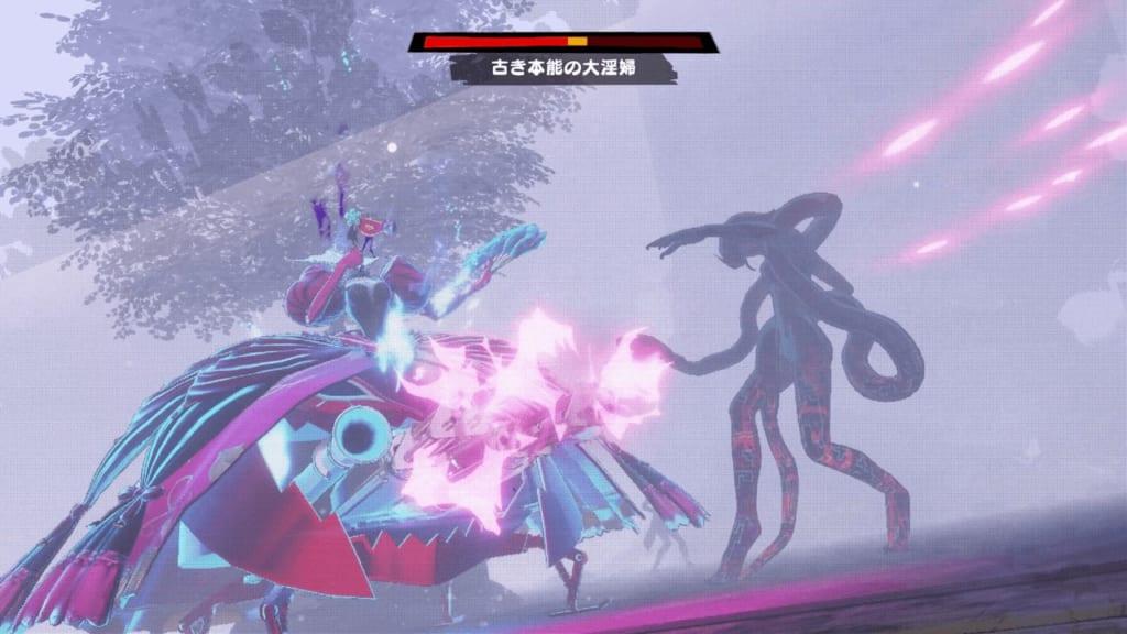 Persona 5 Strikers - Sapporo Jail Dire Shadow Harlot of Desire Lilith Unleash Showtime Attacks