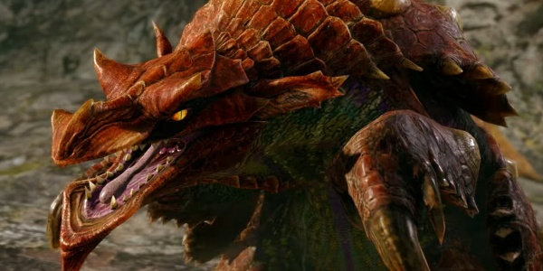 Monster Hunter Rise - Volvidon Monster