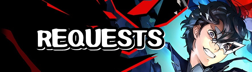 Persona 5 Strikers - Requests Banner