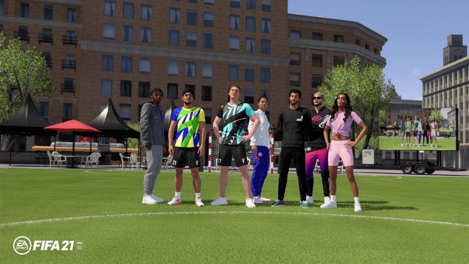 FIFA 21 - Volta Football Mode