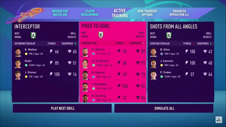 FIFA 21 - Career Mode