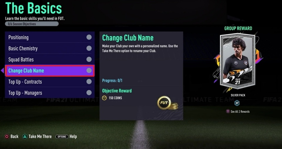 FIFA 21 - How to Change Club Name in Ultimate Team